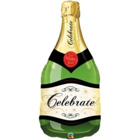 Champagne Bottle Foil (39 in. 10 pk.)