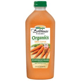 Bolthouse Farms Organic Carrot Juice (52 oz.)