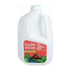 Meadow Brook 1% Lowfat Milk  (1 gal.)