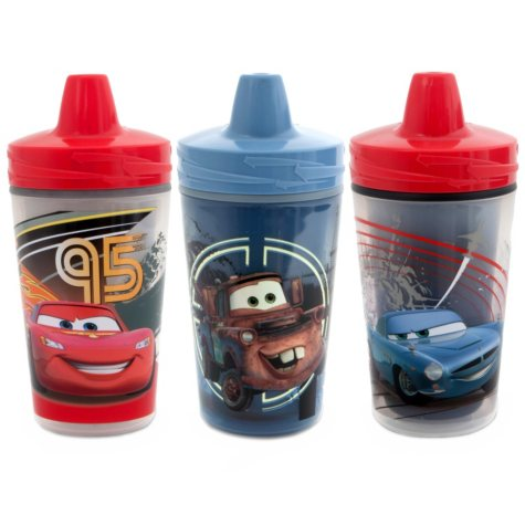 The First Years Disney Cars 2 Insulated Sippy Cups - 3 pk.