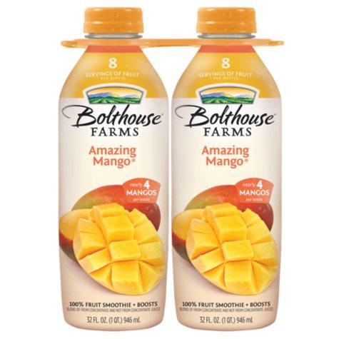 Bolthouse Farms Amazing Mango - 32 oz. bottles - 2 pk.
