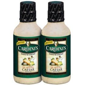 Cardini's Caesar Dressing (20 oz., 2 pk.)