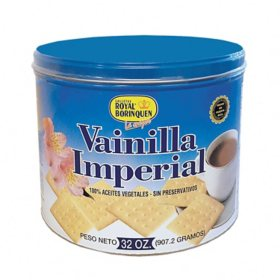 Royal Borinque Vanilla Imperial Crackers (32 oz.)