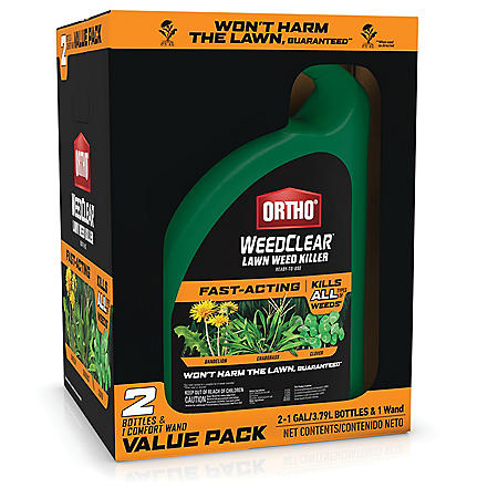 Ortho WeedClear Lawn Weed Killer Ready-to-Use Value Pack