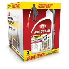Ortho Home Defense Insect Killer for Indoor and Perimeter2 (with Comfort Wand) Value Pack, 1.33 gal. (2-Pack)