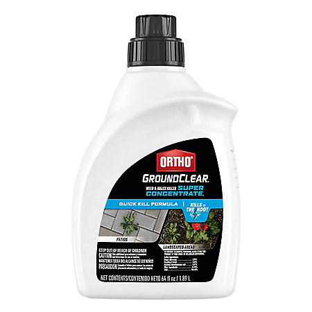 Ortho GroundClear Weed & Grass Killer Super Concentrate1 - 64 fl. oz.
