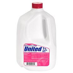 United Dairy 1% Lowfat Milk (1 gal.)