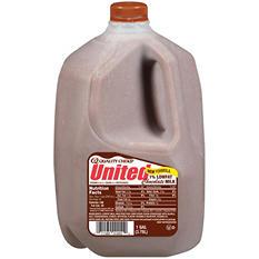 United Dairy 1% Low Fat Chocolate Milk (1 gal.)