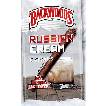 Backwoods Russian Cream Cigars (5 ct., 8 pk.)