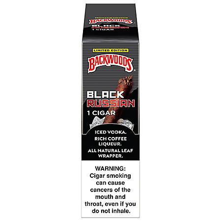 Backwoods Black Russian Cigars (Single pk., 24 ct. box)