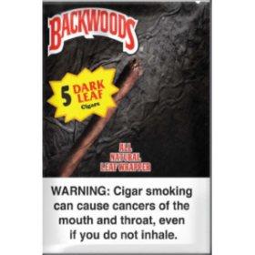 Backwoods Dark Leaf Cigars (5 ct., 8 pk.)