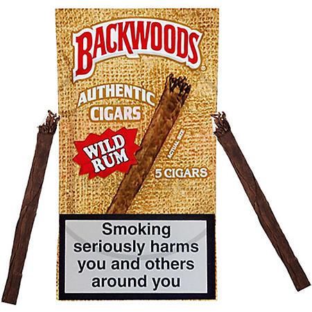 Backwoods Wild Rum Cigars (5 ct., 8 pk.)