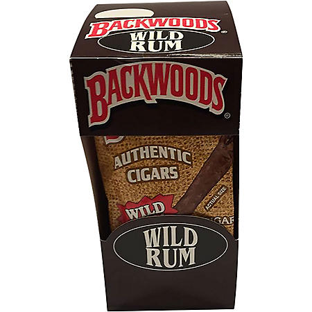 Backwoods Wild Rum Cigars (40 ct. display box)
