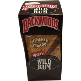 Backwoods Wild Rum Cigars (40 ct. display box)