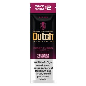 Dutch Masters Berry Fusion Cigar (30 per pk., 2 pk.)