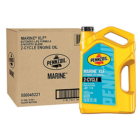 Pennzoil Marine XLF Synthetic Blend 2-Cycle Engine Oil (TC-W3)