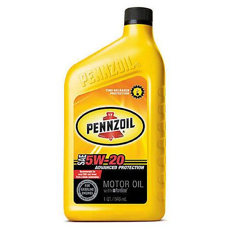 Pennzoil 5W-20 Motor Oil (12-pack/1 quart bottles)