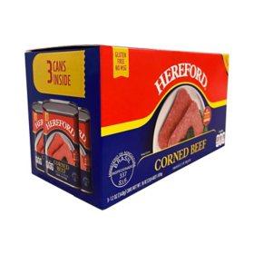 HEREFORD Corned Beef (12 oz., 3 pk.)