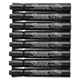 Picture A Christmas Flipchart.Sharpie Flip Chart Markers Select Color Bullet Tip 8 Ct