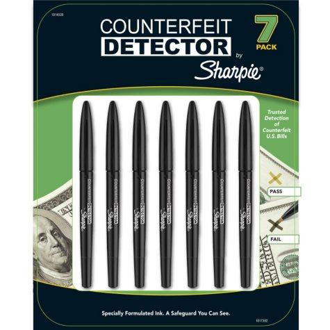 Sharpie Counterfeit Detector Pens - 7 Pack