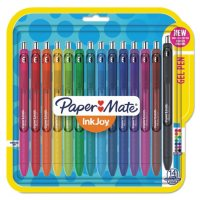 Paper Mate InkJoy Pens, Medium Point, Assorted, 14 Count