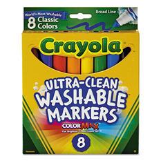 Crayola Washable Classic Marker Set