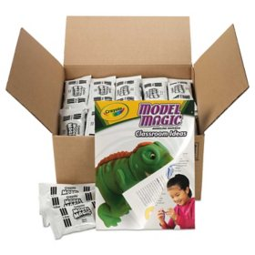 Crayola® Model Magic Modeling Compound, 1 oz each packet, White, 6 lbs. 13 oz
