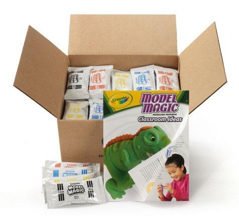 Crayola Model Magic Modeling Compound, 1 oz. each packet, Assorted -  75 oz.