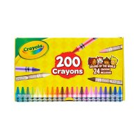 Crayola Crayons Featuring Colors of the World, 200 Count