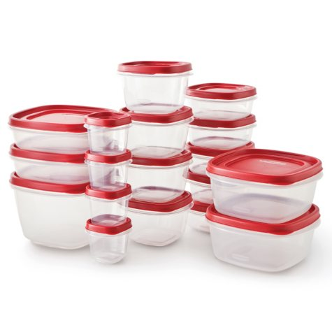 Rubbermaid Food Storage Set with Easy Find Lids - 36 pcs.