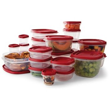 Rubbermaid 50-Pc. Easy Find Lids Food Storage Set
