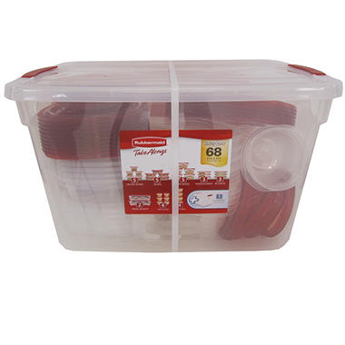 Rubbermaid TakeAlongs - 68 pc. Set