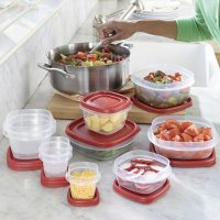 Deals on Rubbermaid 50-Piece Easy Find Lids Food Storage Set