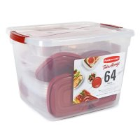 Rubbermaid 64-Piece TakeAlongs Food Storage Set Deals