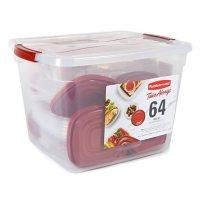 Rubbermaid 64-PieceTakeAlongs Food Storage Set with 30-Quart Storage Tote