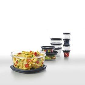 Rubbermaid Premier 20-Piece Food Storage Set