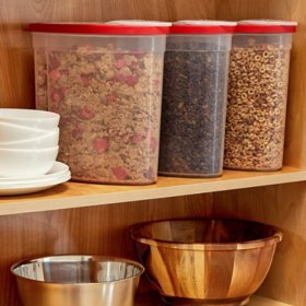 Rubbermaid Cereal Keeper, 3 Pack