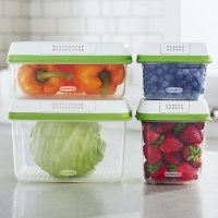FreshWorks Food Storage Containers, 8-Piece Set