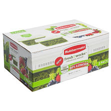 Rubbermaid FreshWorks Produce Saver Containers, Large (Set of 2)
