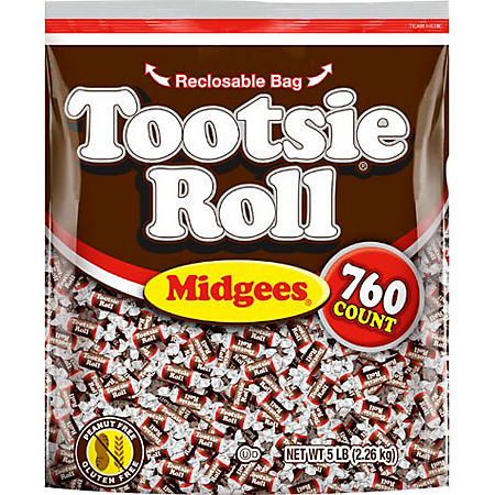 Tootsie Roll Midgees (80 oz., 760 ct.)