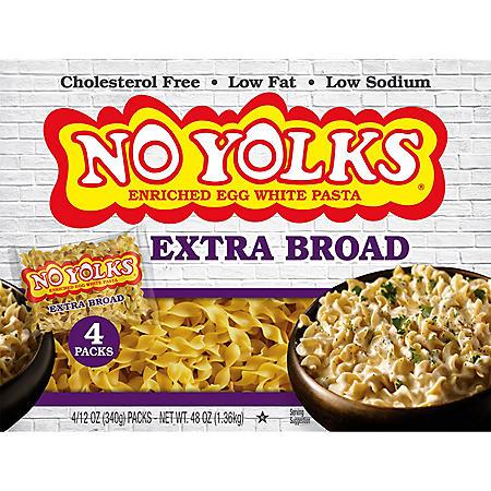 No Yolks Egg White Noodle Pasta (12 oz., 4 pk.)
