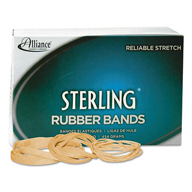 Alliance - Sterling Rubber Bands, #117, 1lb - 250 Count