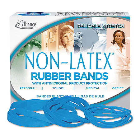 Alliance Latex Free Antimicrobial Rubber Bands