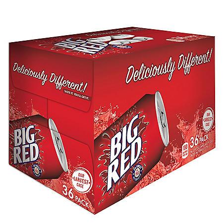 Big Red Soda (12oz / 36pk)