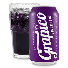 Grapico Sparkling Soda (12 oz. cans, 24 pk.)