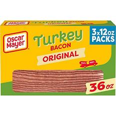 Oscar Mayer Turkey Bacon (12 oz. pkg., 3 pk.)