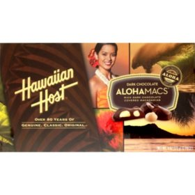 Hawaiian Host Dark Chocolate AlohaMacs (6 oz., 6 pk.)