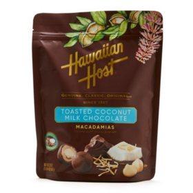 Hawaiian Host Toasted Coconut Milk Chocolate Macadamias (20oz)