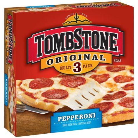 TombStone Original Pepperoni Pizza (3 ct.)