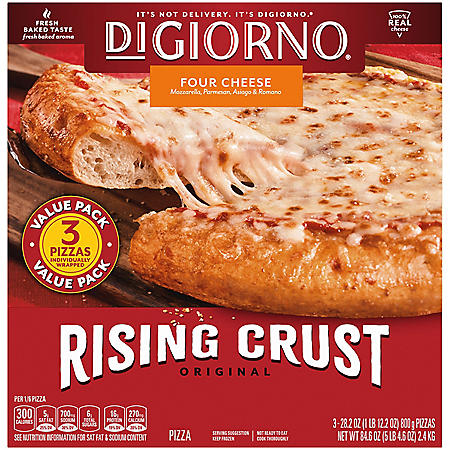 DiGiorno Original Rising Crust Four Cheese Frozen Pizza (3 pk.)